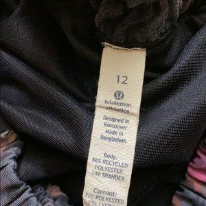 lululemon athletica Shorts - Lululemon tracker shorts size 12